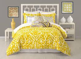 trina turk ikat queen duvet cover set yellow white