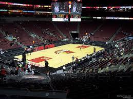Yum Center Seating Chart Women S Basketball Kfc Yum Center Section 119 Louisville Basketball