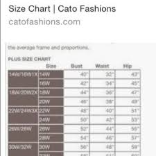 Cato Plus Size Chart Cato Woman Plus Size Top Size 18 20w