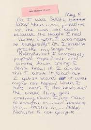Personal Journals For Sale Taylor Swifts Diary Entries Are A Must Read Companion To