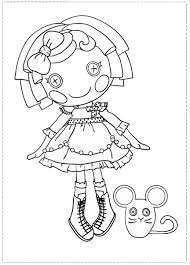 Small Picture Lalaloopsy Coloring Pages Birthday Printable