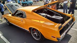 This Guy Made A Ford GT Out Of A 1970 Mustang Mach 1 With A Mid ...