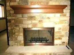 replacing fireplace doors fireplace mortar repair