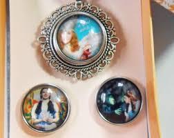 4 piece wizard of oz necklace pendant jewelry set silver ginger snap jewelry set interchangeable whole bluebonnet