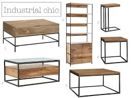 industrial modular storage bookshelf 899 3 oak industrial style side table 99 4 industrial storage box frame coffee table 599 5