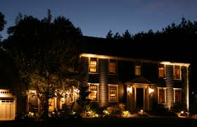 lighting in house. Outdoor Landscape Lighting Can Added Security For The Home In House H
