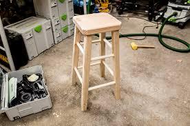 wood stool diy ho to make bar stool