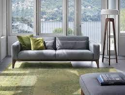 living room trio of comfy modern sofas
