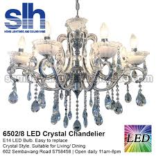cc1 6502 8 a crystal chandelier led semba