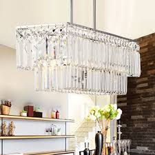 crystal material silver fixture hardware clear glass pendant lights
