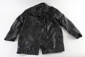 banana republic leather jacket size large