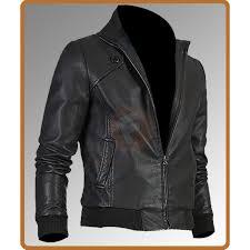 slim fit trendy vintage er jacket men s leather jacket uk