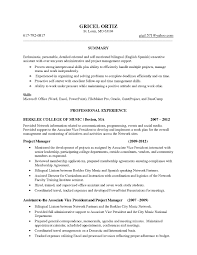 Project Management Resume Key Skills Best Of Key Manager Resume