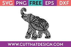 Baby elephant (#3) popular svg vectors: Free Svg Files Elephant Archives Cut That Design