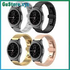 Gu] Dây đeo inox cho đồng hồ thông minh Samsung Gear S2 Classic Giá Rẻ  Freeship