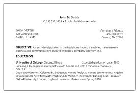 Objective Section Of A Resume Keralapscgov