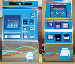 Automatic Ticket Vending Machine Project Inspiration AFC Hyderabad Metro LT India