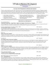Fresh Sales Business Development Resume Business Development Resume