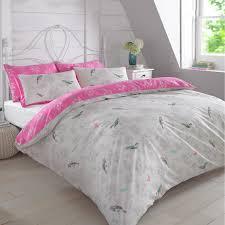 duvet cover with pillowcase bedding set vintage bird