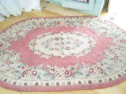 Pink Rugs For Living Room Reserved Kelly Fabulous Shabby Chic Pink Wool Latch Hooked Rug