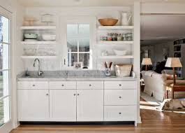to decorate small open concept kitchen