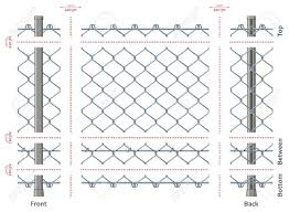 グラデーションと簡単な編集後シームレスに非常に詳細なチェーン リンク フェンス