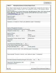 Workplace Incident Report Form South Australia Workplace