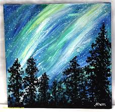 painting ideas canvas acrylic easy best of paintings nature for