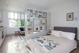 ikea room divider ideas with studio flat
