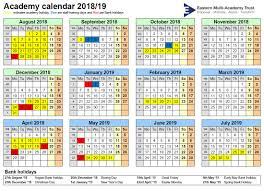 Term dates – Eastgate Academy