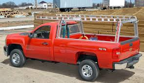Pick up truck ladder racks – Contractor Rig - System One aluminum ...