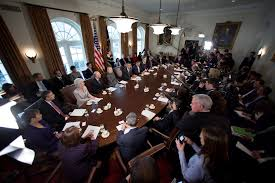 Obama And Cabinet A Cabinet Meeting Focused On Small Business Whitehousegov
