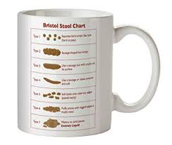 Faeces Bristol Stool Chart Bristol Stool Chart Ceramic Mug Ideal For Nurses