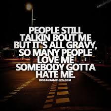 Lil Boosie Quotes Stunning Boosie Quotes Somebody Gotta Hate Me Lil Boosie Quote Graphic