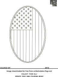 American Flag Coloring Pages For Kindergarten Printable Coloring