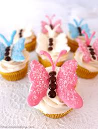 Butterfly Cupcakes Two Sisters