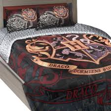 harry potter twin full comforter set house motto bedding contemporary kids bedding