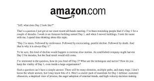 Writing Memo Samples How Jeff Bezos Turned Narrative Into Amazons Competitive