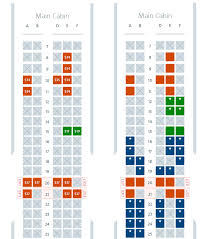 Airline Seat Size Chart A Beginners Guide To Choosing Seats On American Airlines