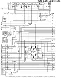 83_FSJ_WiringDiagram_FuseBlock Underdash tom 'oljeep' collins fsj wiring page on 73 87 chevy orange connector by fuse box