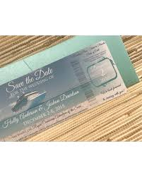 Amazing Deal On Boarding Pass Save The Date Destination Wedding