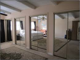 image mirrored closet. Closet \u0026 Storage. Space Up Your Bedroom Using Mirrored Doors Design Ideas. Image