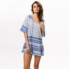 Beach Cover Ups Swimwear Women Tunics For Tunic Swim Swimming
