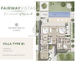 Fairway Vistas Villa Type B1 7 Bedroom Floor Plan Jpg 2173 1776