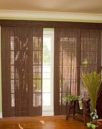 patio doors with blinds between the glass:  lovable sliding patio door blinds woven bamboo sliding patio glass door ideas bamboo blinds sliding house