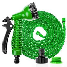 expandable garden hoses. Savisto 75ft Long Expandable Garden Hose With Spray Gun - Green [Also Available In 100ft Hoses O