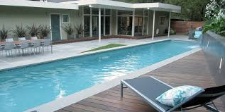 wood pool deck shades of green landscape architecture sausalito ca