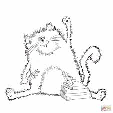 Small Picture Coloring Page Pages Pinterest Best Cats Best Cat Coloring Cats