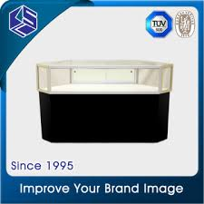 Jewelry Display Stand Manufacturers Gorgeous KSL32 China Hot Promotion Jewelry Store Fixture Glass Jewelry