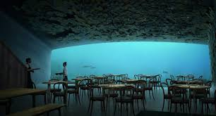 architecture underwater. described by the oslo and new yorkbased firm as architecture underwater